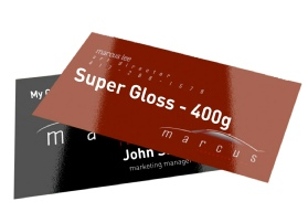 Super Gloss Business Cards