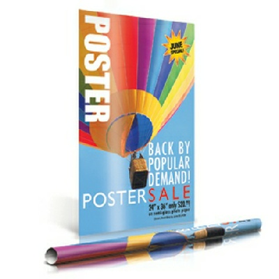 Poster printing custom size